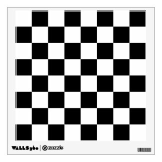 Chessboard Wall Decal
