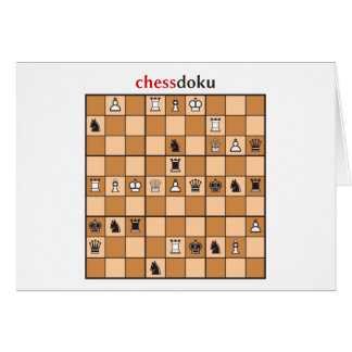 chessdoku card