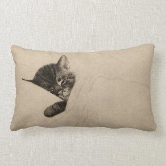 """Chessie """"Sleep like a Kitten"""" Accent Pillow"""