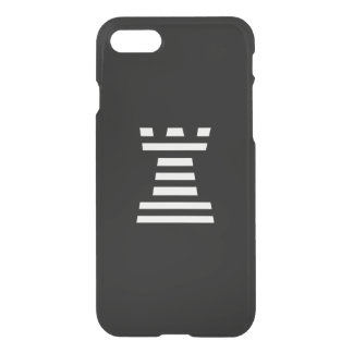 ChessME Black iPhone 7 Clearly™ Deflector Case