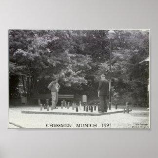 Chessmen Poster