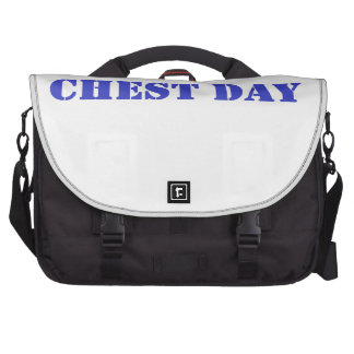 chest day blue computer bag