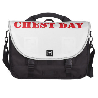 chest day red laptop bags