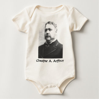 Chester A. Arthur 21 Baby Bodysuit
