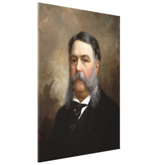 CHESTER A. ARTHUR Portrait by Ole P.H. Balling Canvas Print