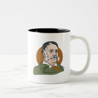 Chester Arthur Two-Tone Coffee Mug