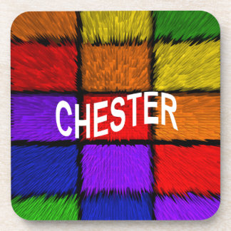 CHESTER BEVERAGE COASTERS