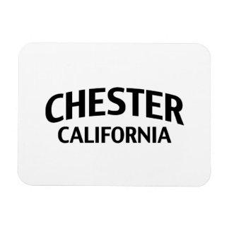Chester California Rectangular Photo Magnet