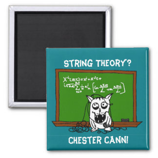 Chester Cann String Theory Magnet #ChesterCann