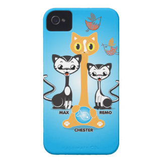 Chester Cats iPhone 4 Cover