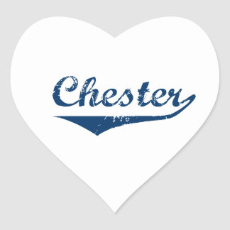 Chester Heart Sticker