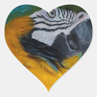 Chester III Heart Sticker
