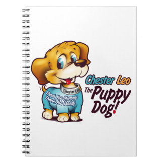 Chester Leo: The Puppy Dog! Photo Notebook