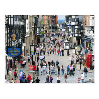 Chester Main Street Postcard