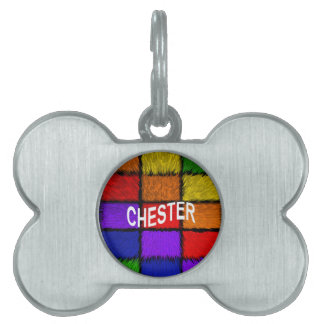 CHESTER PET TAGS