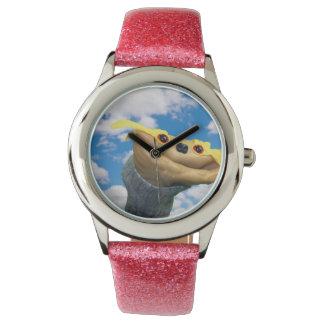 Chester Pink Glittery Watch