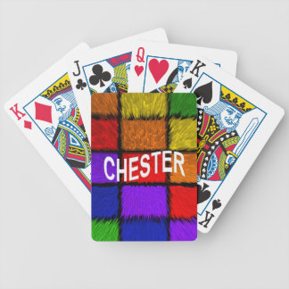 CHESTER POKER DECK