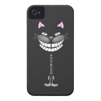 """""""Chester the Cat"""" smiling cute cheshire kitty Case-Mate iPhone 4 Cases"""
