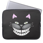 """Chester the Cat"" smiling cute cheshire kitty Laptop Sleeves"