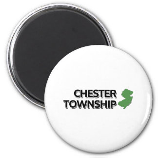 Chester Township, New Jersey 2 Inch Round Magnet
