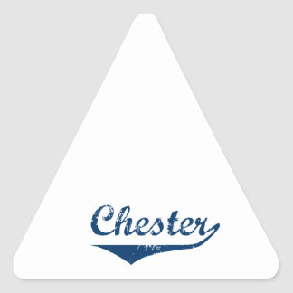 Chester Triangle Sticker