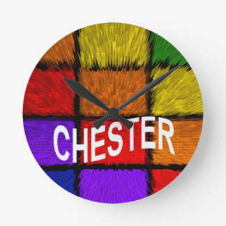 CHESTER WALLCLOCKS
