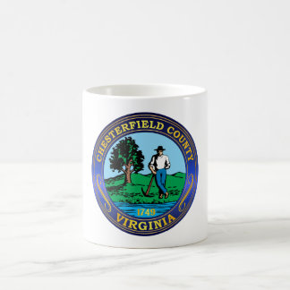 Chesterfield County seal Coffee Mug