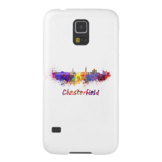 Chesterfield skyline in watercolor galaxy s5 cover