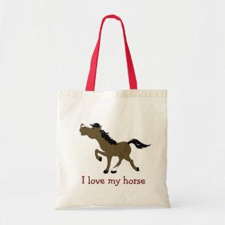 CHESTNUT HORSE Lover Grocery Bag