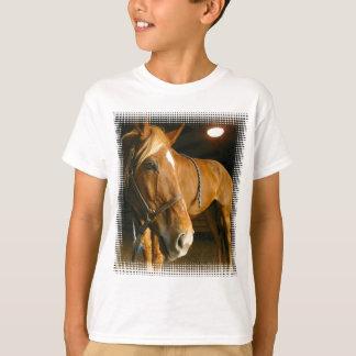 Chestnut Horse Photo Kid's T-Shirt