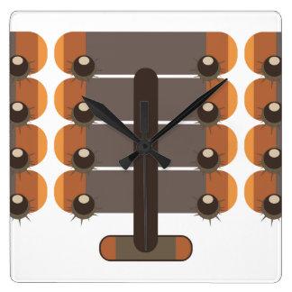 Chestnut Square Wall Clock