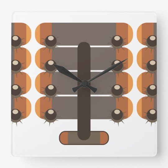 Chestnut Square Wall Clock