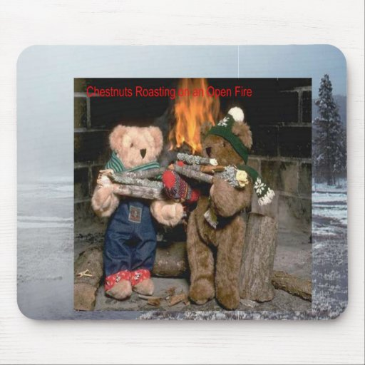 Chestnuts Roasting Mouse Pad
