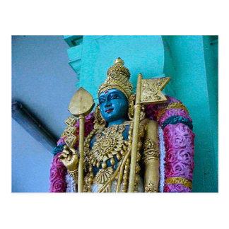 Chettiar Hindu Temple, Hindu goddess Postcard