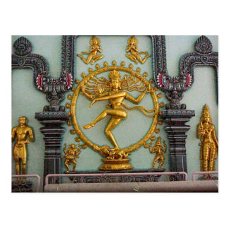 Chettiar Hindu Temple, Statue of Shiva Postcard