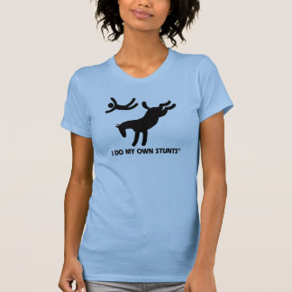 Cheval mes propres cascades t-shirts