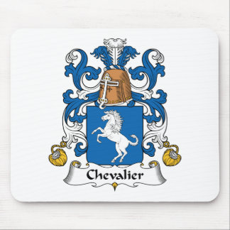 Chevalier Family Crest Mouse Pad