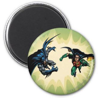 Chevalier FX - 20B de Batman Magnet Rond 8 Cm