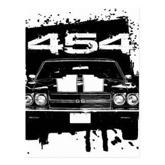Chevelle 454 postcard