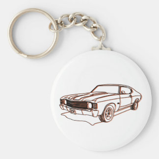 Chevelle Key Chain