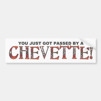 Chevette Bumper Sticker