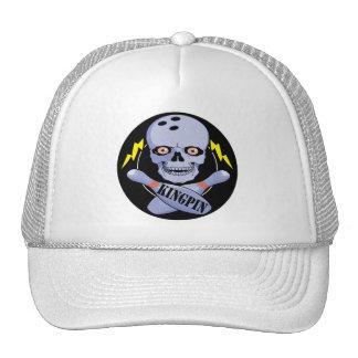 Cheville ouvrière de bowling casquette trucker