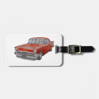 Chevrolet Belair Luggage Tag