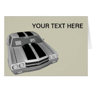 Chevrolet Chevelle SS Card