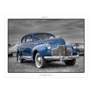 Chevrolet Master DeLuxe '41 Postcard