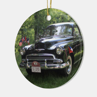 Chevrolet Special Series Six 1500 JJ Styleline Round Ceramic Ornament