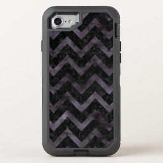 CHEVRON9 BLACK MARBLE & BLACK WATERCOLOR OtterBox DEFENDER iPhone 7 CASE