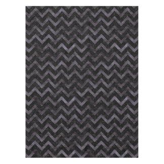 CHEVRON9 BLACK MARBLE & BLACK WATERCOLOR TABLECLOTH
