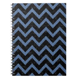 CHEVRON9 BLACK MARBLE & BLUE DENIM NOTEBOOKS