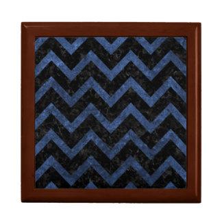 CHEVRON9 BLACK MARBLE & BLUE STONE GIFT BOX